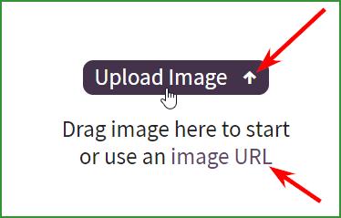способы загрузки картинки на ресурс Font Squirrel для распознавании шрифта