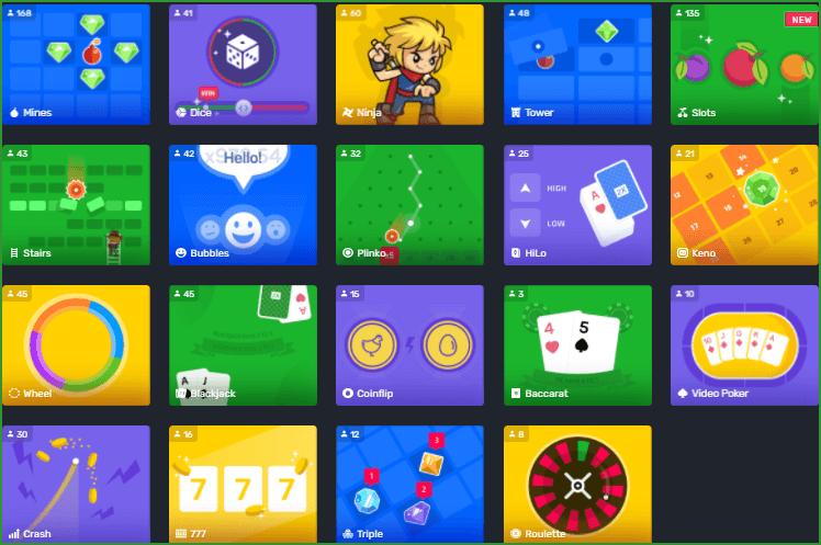 варианты мини игры на деньги на play2x